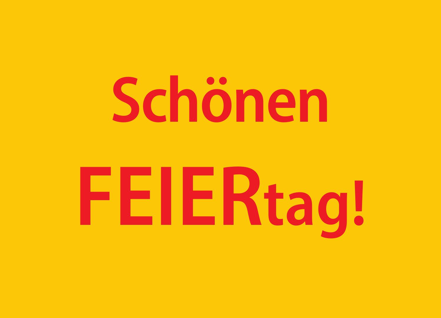 FEIERtag! - KSHG