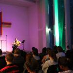 Varietéabend: Students live on Stage