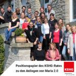 Positionspapier des KSHG-Rates zu den Anliegen von Maria 2.0